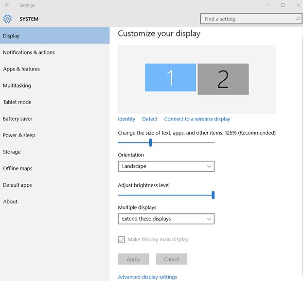 كيفية تعديل شاشة الكمبيوتر المقلوبة ويندوز 10 ؟