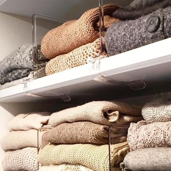 كيفية تنظيم ملابس الشتاء في الدولاب؟