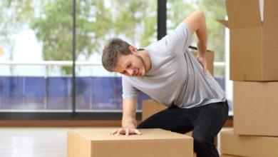كيفية حمل الأشياء الثقيلة: 7 نصائح حتى لاتصاب الانزلاق العضروفي