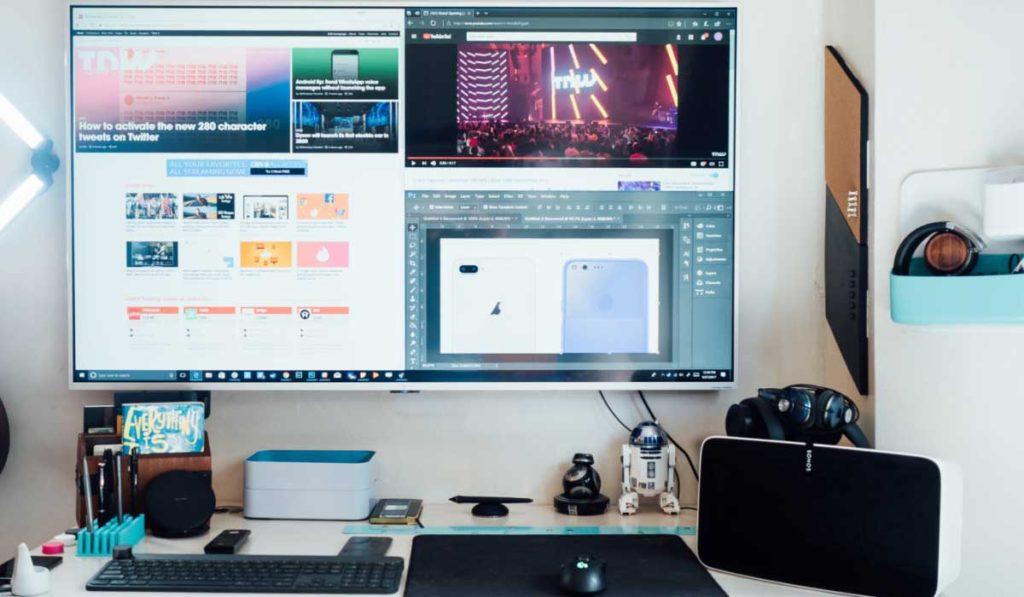 أنواع الوصلات المستخدمة في تحويل شاشة الكمبيوتر إلى تلفزيون