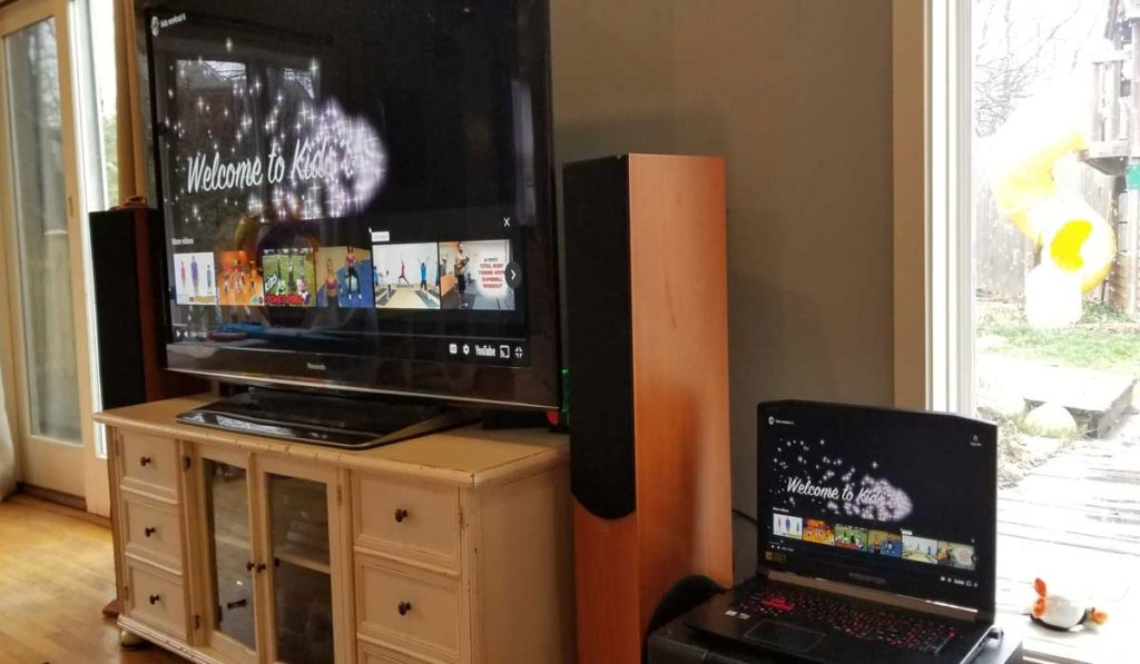 تحويل شاشة الكمبيوتر إلى التلفزيون باستخدام Chromecast