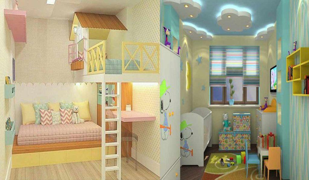 أحدث أشكال غرف الاطفال