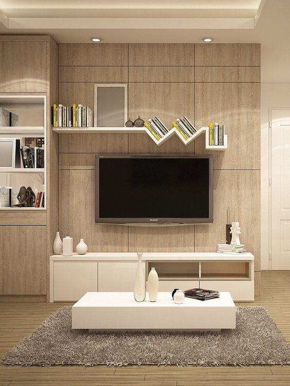 أفكار تصميم ركن التلفزيون