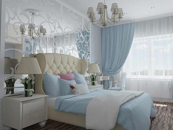 الستائر للغرف الجديدة