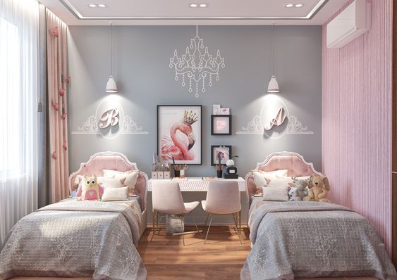 اختيار الألوان الزاهية في غرف نوم الأطفال