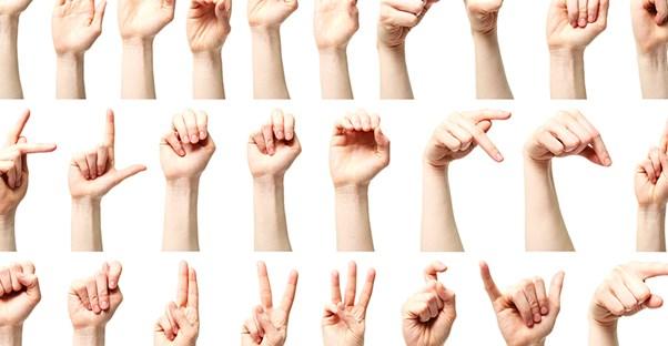 طرق لتعلم لغة الإشارة