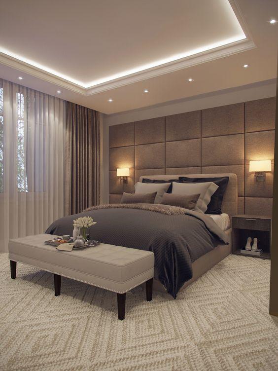 ديكور غرف النوم الجبس