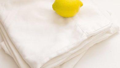 كيفية غسيل الملابس البيضاء والتخلص من البقع بالليمون في 15 دقيقة
