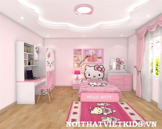 ديكور غرفة أطفال بناتي مثالية