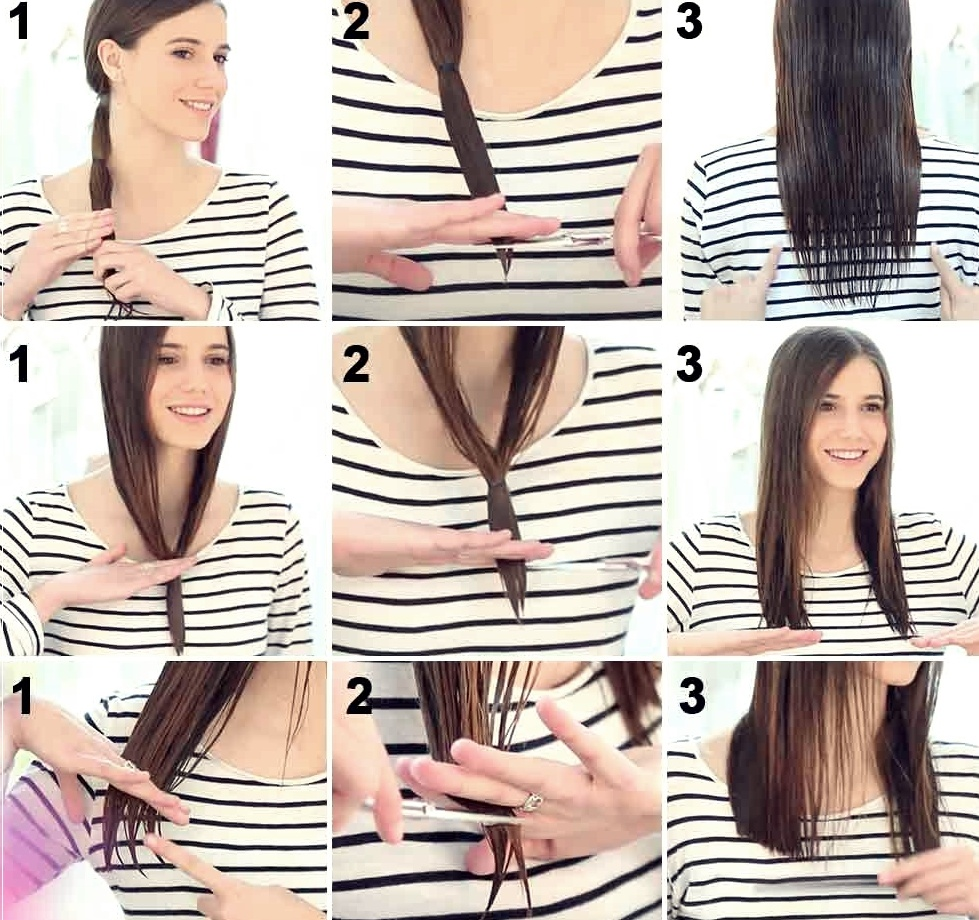قص الشعر بالطريقة الصحيحة