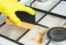 كيفية تنظيف البوتاجاز وإعادته لمعانه بسهولة بـ 3 جنيه؟