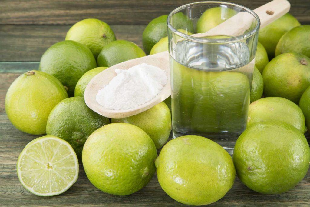 إزالة بقع الحديد بـ الليمون:
