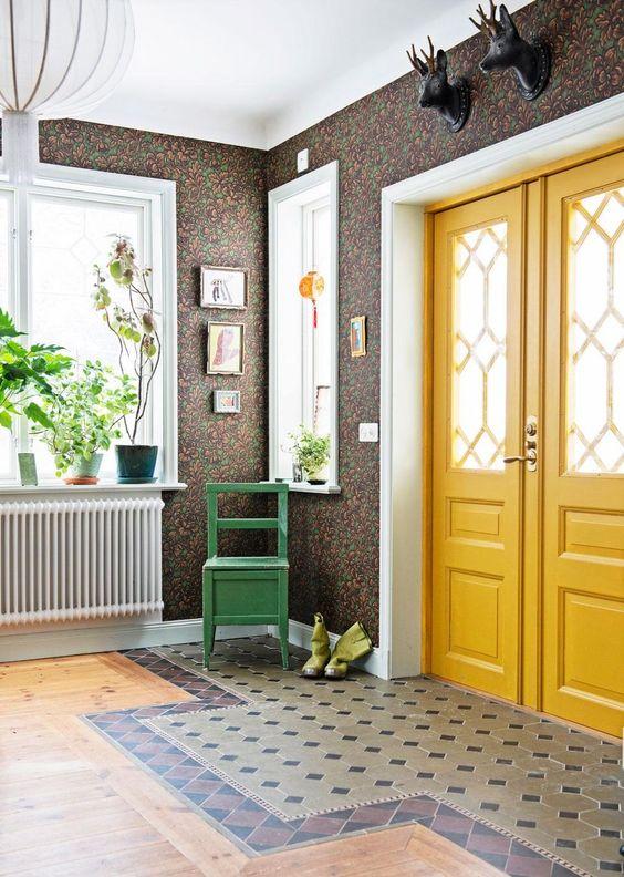 اختيار اللون المناسب لابواب المنزل 22