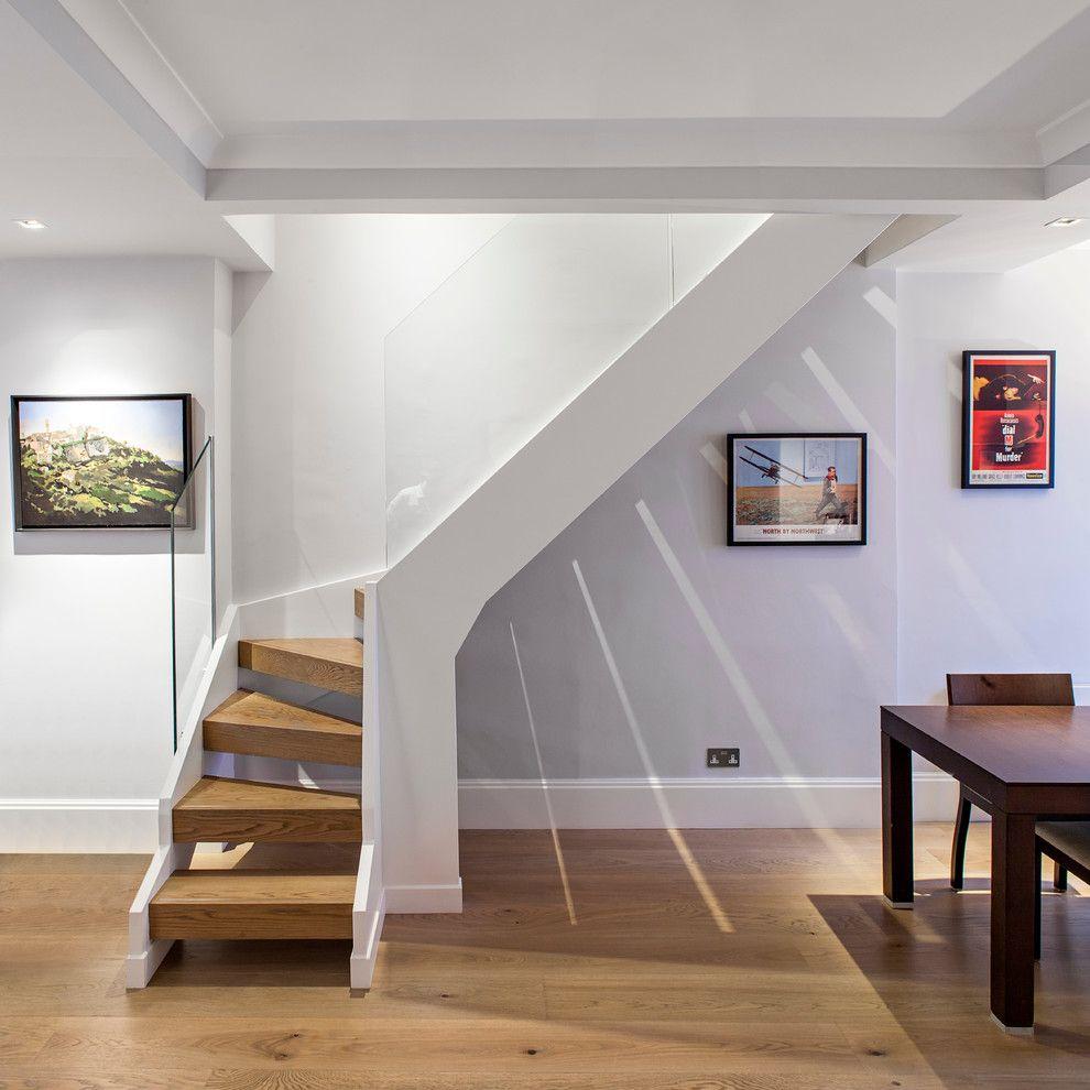 أشكال ديكورات السلالم الداخلية