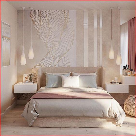 كيفية اختيار غرف نوم مودرين صغيرة المساحة للعرسان لديكور مميز في 2021؟ 2