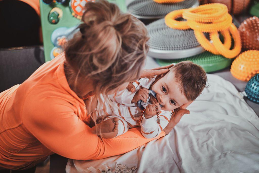 أفضل علاج قشرة وجه الرضيع