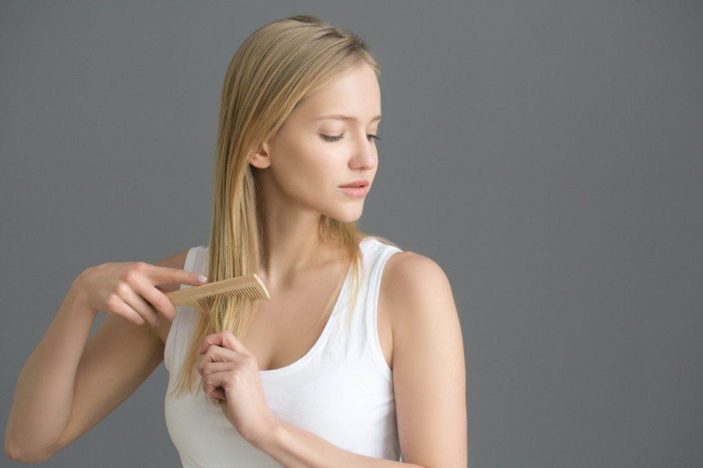 علاج مشاكل الشعر باللبن