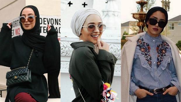 طرق اختيار نظارات شمسية لطريقة حجابك موديلات 2021