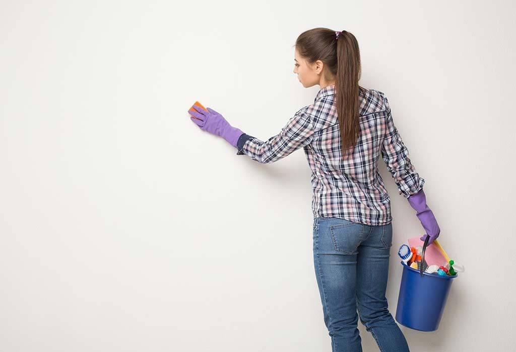 إزالة الحبر من الحائط