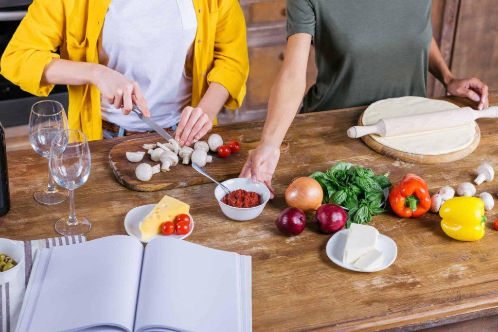 أساسيات تعلم الطبخ للمبتدئين