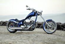 Custom Motorcycle overlook