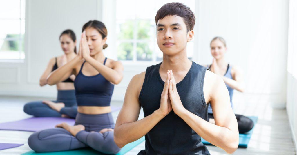 تعلم اليوجا للمبتدئين