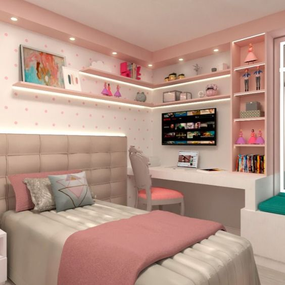 غرف نوم صغيرة للعرسات