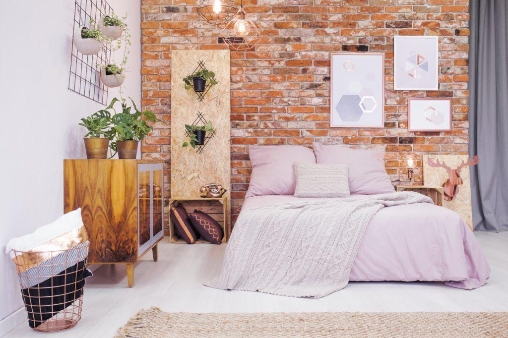 غرف نوم صغيرة للعرسان